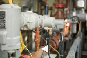 Фото электромонтаж - Расключение электропроводных задвижек