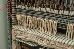 Фото электромонтаж - Расключка шкафа АСУТП на ПСН